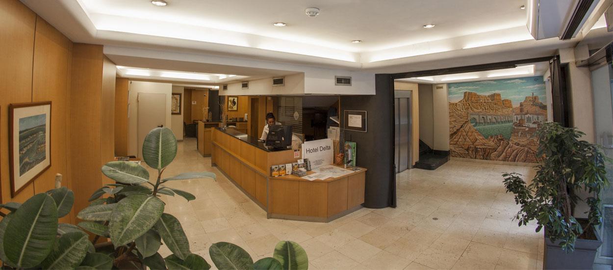 Bienvenidos al Hotel Delta